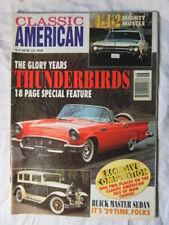 CLASSIC AMERICAN CARS #38 June 1994 THUNDERBIRDS Special - Buick Master Sedan