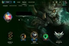 League of Legends account - 600 € valore - 72 Skins-Euw