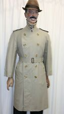 Trench imperméable léger BURBERRY'S Homme beige taille 46 short made in England