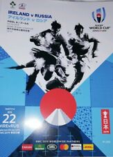 Ireland v Russia October 2019 Rugby World Cup programme Kobe