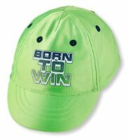 The Children's Place Born to Win Satin Cap Size 6-12 Months NWT
