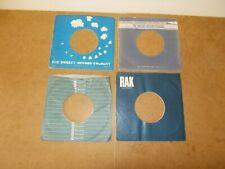 4 X ORIGINAL FACTORY RECORDS SLEEVE 45 RPM - ABC - THE ROCKET RECORD - RACK (67)