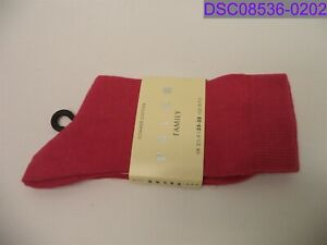 dirty from handling Falke Family Stretch Cotton Crew Sock Pink Size 5-7.5 47675