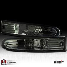 2000 2002 Mitsubishi Eclipse Smoke Front Bumper Lights Tinted Turn Signal Lamps Fits 2002 Mitsubishi Eclipse