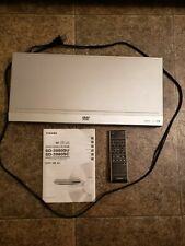 New listing Toshiba Dvd Video Player Sd-3980 with Remote Se-R0177