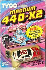 3 1986 TYCO Magnum 440-X2 Ford Thunderbird Stocker Slot Cars 15 21 & 28 Hardees