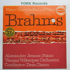 RM 161 - BRAHMS - Piano Concerto No 2 JENNER / DIXON Vienna VO - Ex LP Record