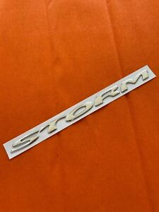Holden Commodore VY VZ Storm Ute Badge
