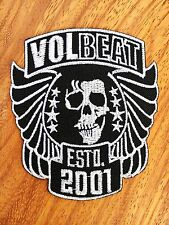 Volbeat Patch Sew Iron On Embroidered Rock Band Heavy Metal Logo Music Badge