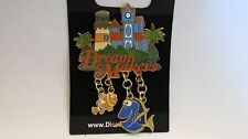 Disney Resort Cast Exclusive /Dream Maker Caribbean Beach Dory Finding Nemo Pin