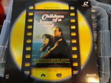 'Children Of A Lesser God' 1991 Dutch Edition Laser Disc -PAL-