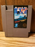 Pro Wrestling - Nintendo NES Game Authentic - Cart Only