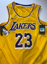 Lebron James Nike La Lakers Jersey Brand New with tags size 52 King James Nba