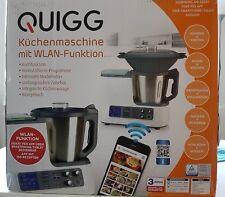 Quigg Multifunktions - Küchenmaschine mit WLan Funktion und Dampfgarer