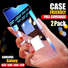2X Full Cover Tempered Glass Screen Protector For Samsung Galaxy A20 A30 A50 A70