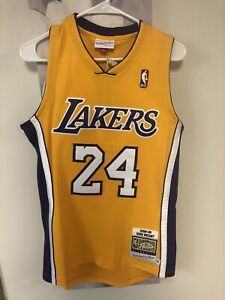 Mens Los Angeles Lakers Kobe Bryant Mitchell & Ness 08-09 Authentic Jersey