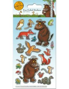 The Gruffalo Fun Foiled Stickers sheet Official Product over 20 Stickers