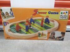 Plan Toys Soccer 4122 Foosball Wooden Toy NEW NIB