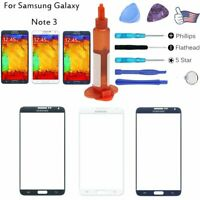 For Samsung Galaxy Note 3 Front Replacement Glass Screen Lens Repair Tools Set