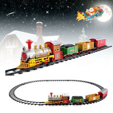 Lights & Sounds Classic Christmas Train Xmas Festival Child Gifts Decor Ornament