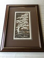 """Al Kaufman Etching Print """"Autumn Days"""" Signed & Numbered, Framed w/COA"""