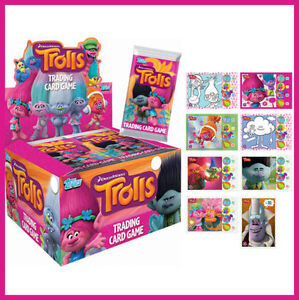 Topps Dreamworks Trolls Trading Card Game 5 Packs Birthday Party Favour