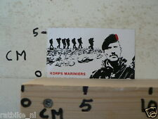 STICKER,DECAL KORPS MARINIERS B