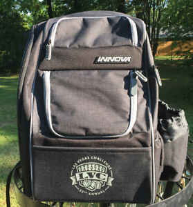 NEW! Innova 2021 Excursion Disc Golf Backpack- Las Vegas Challenge Edition