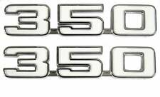1969 Camaro 350 Front Fender Emblems, GM Licensed Reproduction