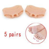 5 pair Gel Metatarsal Sore Ball Foot Pain Relief Cushion  Pads Forefoot Insole
