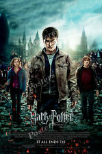 Posters Usa - Harry Potter Deathly Hallow Part 2 Movie Poster Glossy - Mov219