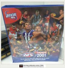 AFL TRADING CARD OFFICIAL ALBUM--2001 AFL Teamcoach Official Album (No Pages)