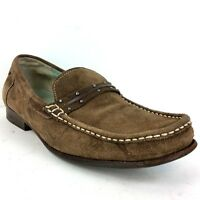 Cole Haan Women's Shoes Size 8.5B Brown Suede Moc Toe Slip On Loafer