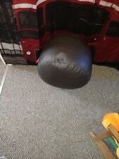 Footstool pouffe used