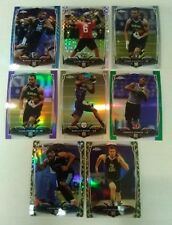 2014 Topps Chrome Refractors Lot 10 Cards Purple Green Pulsar Camo see pics