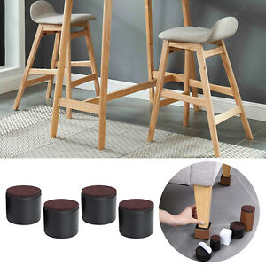Round Bed Risers Table Leg Support Sofa Feet Protector Under Bed Storage
