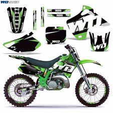 Decal Graphics Kit for Kawasaki KX125 KX250 Dirtbike MX Motocross Deco 92-93 WD