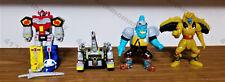 Mighty Morphin Power Rangers Micro Machines Megazord,Squatt,Titanus & Goldar lot