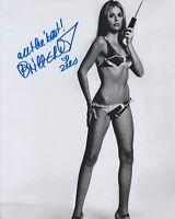 Britt Ekland HAND Signed 8x10 Photo Autograph James Bond 007 Mary Goodnight (E)