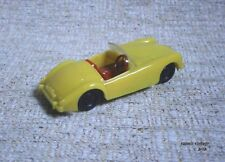 """joy - toy """" MGA """" MG New Made in Greece Greek Vintage Yellow Unique Roadster"""