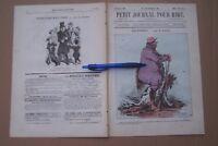 PETIT JOURNAL POUR RIRE  no. 509 1865 - e.a.: BALIVERNES - par Grévin