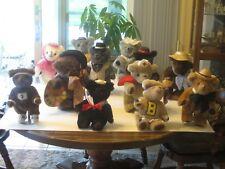Kent collectible Bears 1985 set of 12 Bears