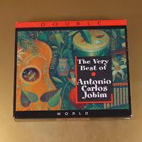 THE VERY BEST OF ANTONIO CARLOS JOBIM - 2007 - OTTIMO CD [AI-008]