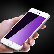 For iPhone8 3D WHITE Curved Full Cover Tempered Glass Anti-Blue Screen Protector