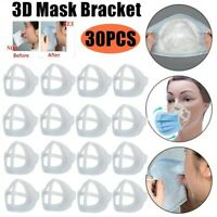 30x 3D Face Masks Support Breathing Assist Help Mask Inner Cushion Space Bracket