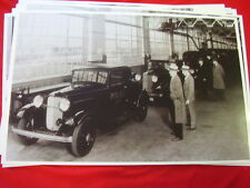 1932 FORD  POLICE CARS ON ASSEMBLY LINE  11 X 17  PHOTO   PICTURE