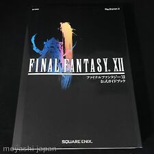 FINAL FANTASY XII 12 Official Strategy Guide Book / Japan PS2 2006
