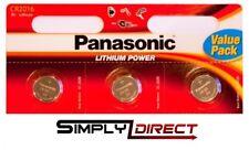 3 x Panasonic CR2016 3V Lithium Coin Cell Battery 2016