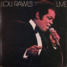 Lou Rawls Live 2 LP Philadelphia International PZ2 35517 Custom innersleeves