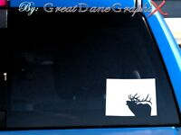 Colorado Elk Hunting State Vinyl Decal Sticker / Color - HIGH QUALITY